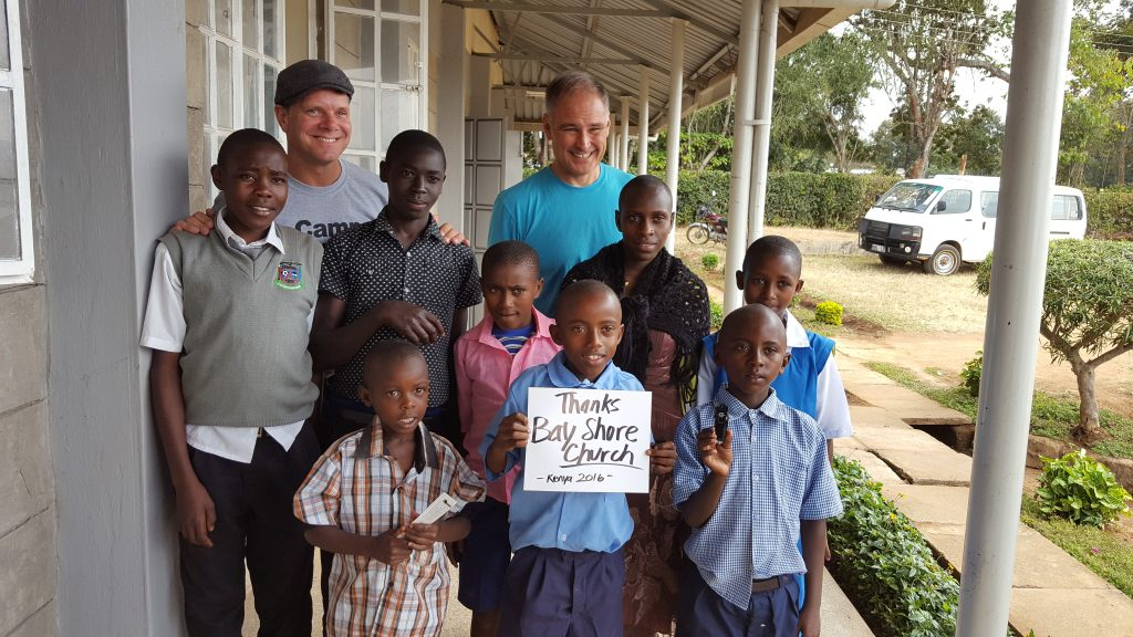 Kenya mission trip. Bay Shore Church.