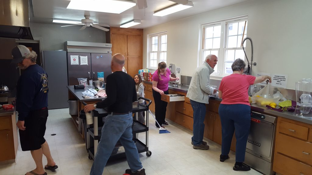 Serve the church kitchen image