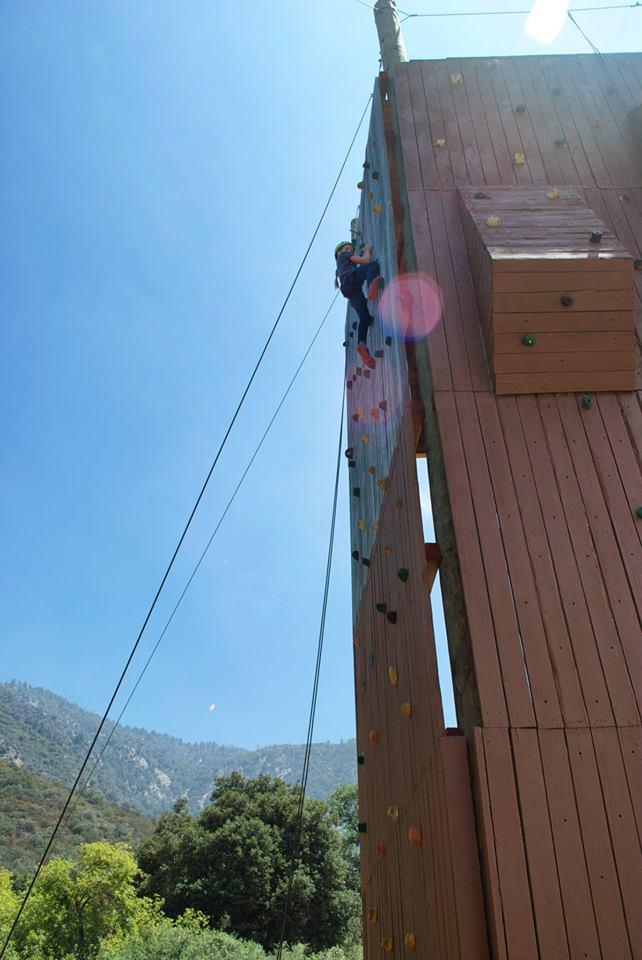 Bay Shore Church Pilgrim Pines high ropes image adventure
