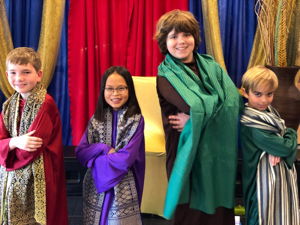 Children's Musical image from Bay Shore Church 2019