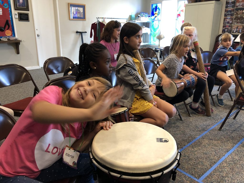Bay Shore Church kids image from VBS 2019