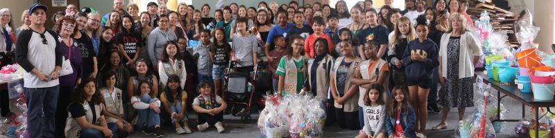 Make a Difference image operation Easter Basket at Bay Shore Church