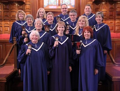 Bell Choir ringers image Bay Shore Church